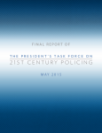 21st Centry Policing Report